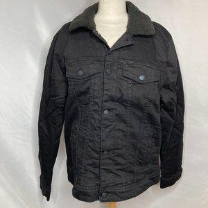 Hollister Sherpa-Lined Denim Trucker Jacket